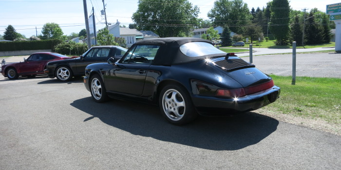 Porsche 1991 964 Cab Noir 009